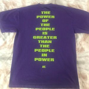 """Melody Ehsani Purple """"Power to the People"""" T-Shirt"""